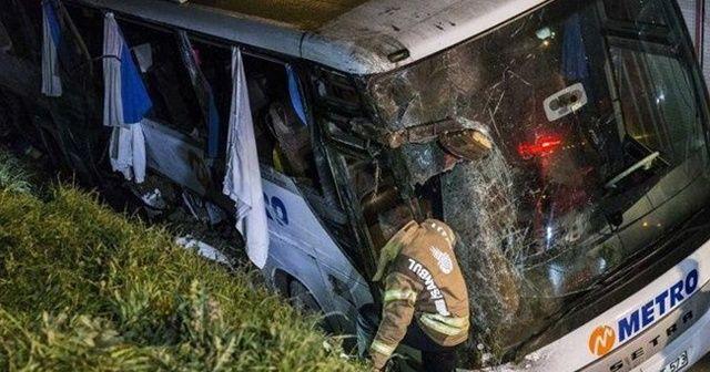 İstanbul'da ölümle sonuçlanan yolcu otobüsü kazası davasında karar