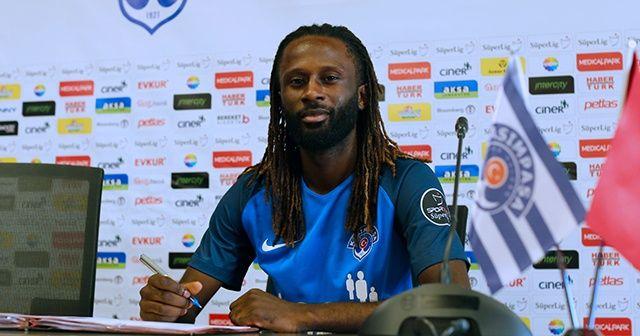 Kasımpaşa, Dieumerci Ndongala'yı kadrosuna kattı