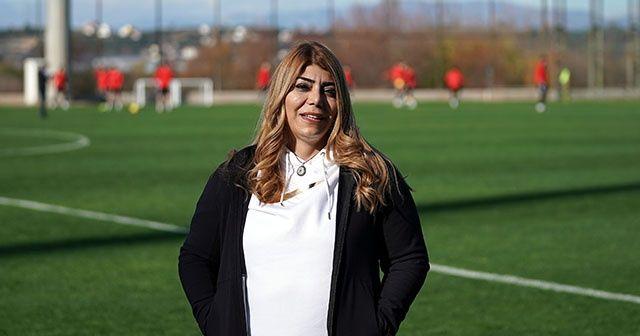 """Kayserispor Başkanı Berna Gözbaşı: """"Transfer yasağını kaldırttım"""""""