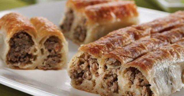Kıymalı börek tarifi, kıymalı sodalı börek, Kıymalı börek nasıl yapılır ve Sodalı börek yapımı