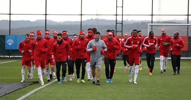 Lider Sivasspor, Beşiktaş maçının hazırlıklarını tamamladı