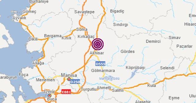 Manisa'da bir deprem daha | Son Dakika Son depremler