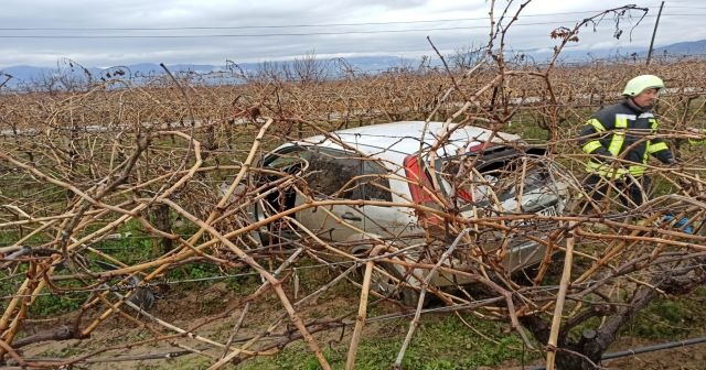 Manisa'da trafik kazası: Yararlılar var