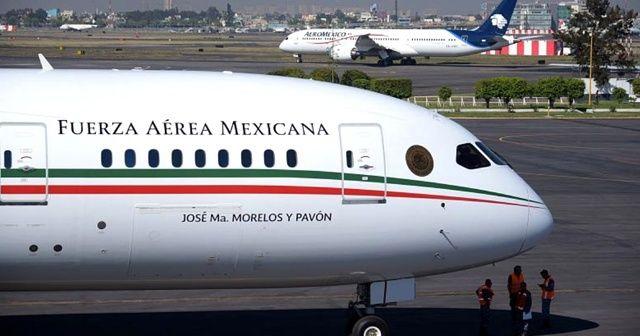Meksika'nın başkanlık uçağı çekilişle yeni sahibini bulacak