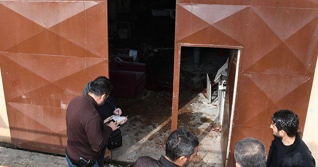 Mersin'de hastanede patlama oldu