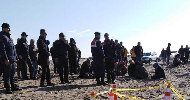 Mersin'de kaybolan bekçilerden  birinin cansız bedenine ulaşıldı