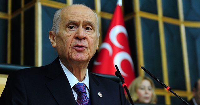 MHP Lideri Bahçeli, 6 ay sonra grup toplantısında konuştu