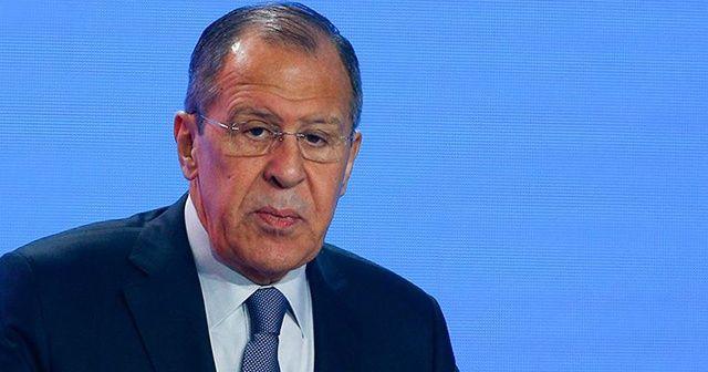 Rusya Dışişleri Bakanı Sergey Lavrov'dan Libya açıklaması