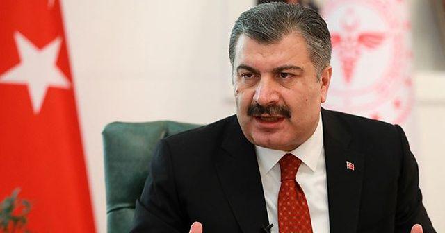 Sağlık Bakanı Koca'dan Anestezi ilacına ilişkin iddialara cevap