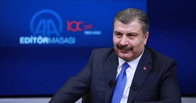 Bakan Koca: Şu an Türkiye için herhangi bir koronavirüsü riski söz konusu değil