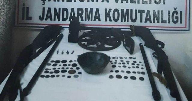 Şanlıurfa'da 104 adet tarihi eser ele geçirildi