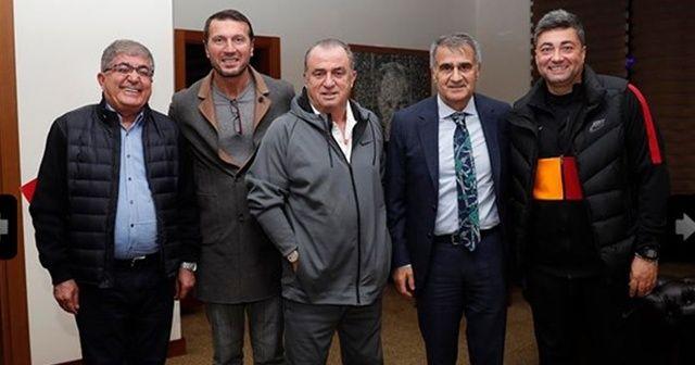 Şenol Güneş, Galatasaray kampını ziyaret etti