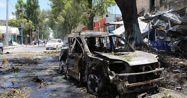Somali'de Türkleri koruyan güvenlik güçlerine bombalı saldırı