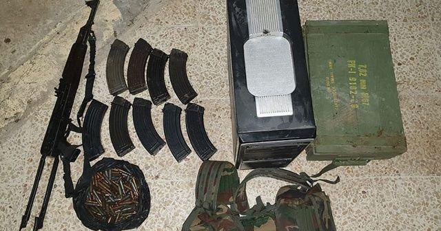 Tel Abyad'da eylem hazırlığında olan 4 PKK/YPG'li terörist yakalandı