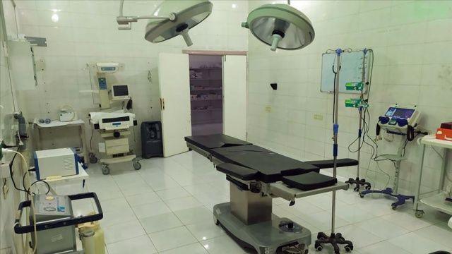 Tel Abyad Hastanesinde ilk ameliyat yapıldı
