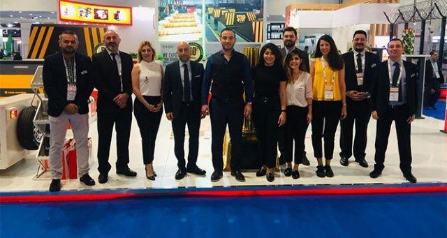 Türk firmasına Dubai Intersec'te büyük ilgi