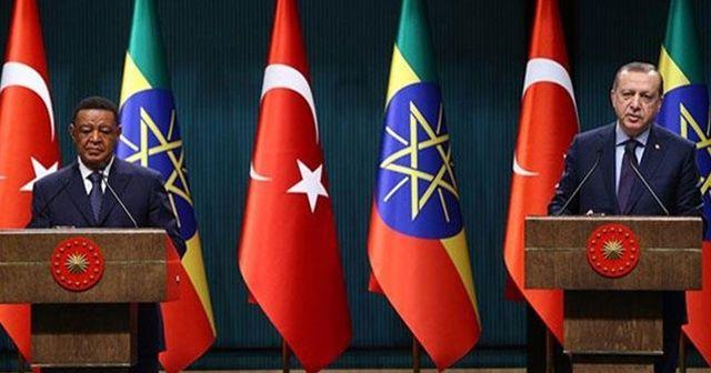 Türkiye, Etiyopya'da en fazla yatırımı olan ikinci ülke