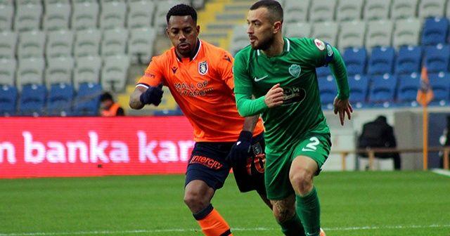 Ziraat Türkiye Kupası: Medipol Başakşehir: 1 - GMG Kırklarelispor: 1