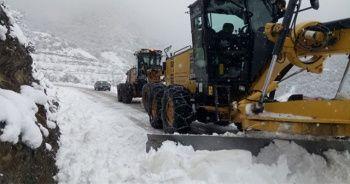 84 köy yolu ulaşıma kapandı