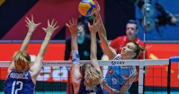 A Milli Kadın Voleybol Takımı, Olimpiyat elemelerinde ilk galibiyetini aldı