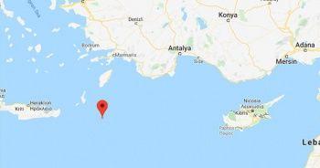 Akdeniz'de deprem | SON DEPREMLER