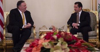 Barzani ve Pompeo İran'ın füze saldırısını görüştü