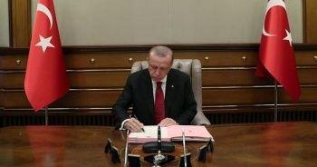 Cumhurbaşkanı Erdoğan onayladı! Karar yürürlüğe girdi