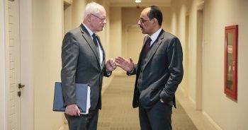Cumhurbaşkanı Sözcüsü Kalın, ABD'nin Suriye Özel Temsilcisi ile görüşüyor