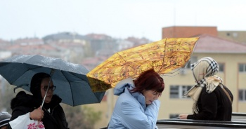 Erzincan için kuvvetli rüzgar uyarısı