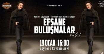 Fatma Turgut 'Efsane Buluşmalar' kapsamında sevenleriyle buluşuyor