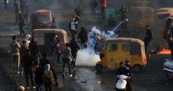 Irak'ta protestolar nedeniyle resmi tatil ilan edildi