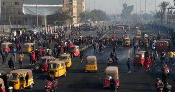 Irak'ta sokaklar karıştı! Ölü ve yaralılar var