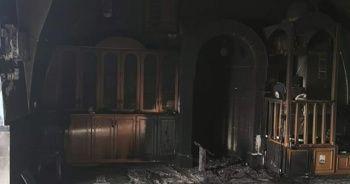 İsrailli bir grup Kudüs'ün güneyindeki bir camiyi tahrip etti