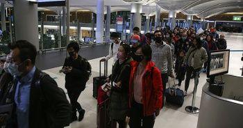 İstanbul Havalimanı'nda Çin'den gelen yolculara koronavirüs taraması
