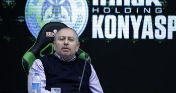 Konyaspor Kulübü Başkanı Hilmi Kulluk: Ben mi çıkıp oynayacağım