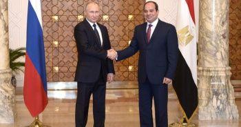 Putin, Sisi ile Libya'yı görüştü