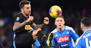 Serie A lideri Inter, Napoli deplasmanında kazandı