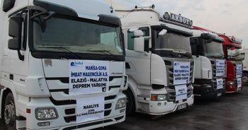 Soma'dan depremzedelere 20 bin ton kömür gidecek