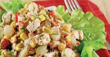 Tavuklu salata tarifi, Tavuklu salata nasıl yapılır ve Tavuklu salata yapımı ve hazırlanışı