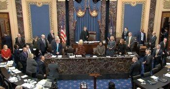 Trump'ın Senato'daki 'azil yargılaması'nda 3. gün sona erdi