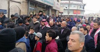 Ürdünlüler İsrail ile anlaşmayı protesto etti