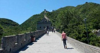 Virüs tehdidi Çin Seddi'ne ziyaretleri yasaklattı