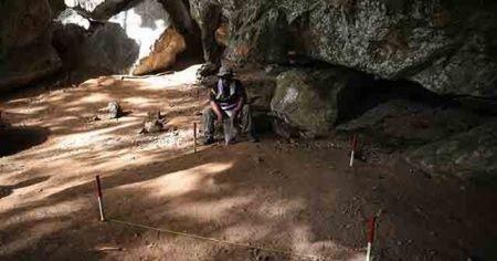 17 bin yıllık taştan yapılmış eşyalar bulundu