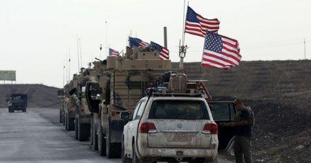 ABD askerleri, Rus askerlerinin yolunu kesti