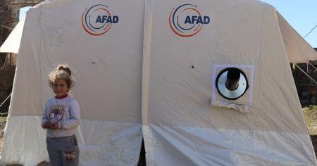 AFAD: Elazığ ve Malatya'da müdahale ve iyileştirme çalışmaları sürüyor
