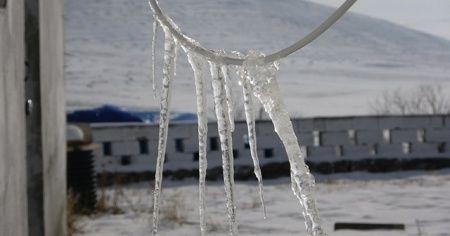 Ardahan'da soğuk hava: Göle eksi 20 derece