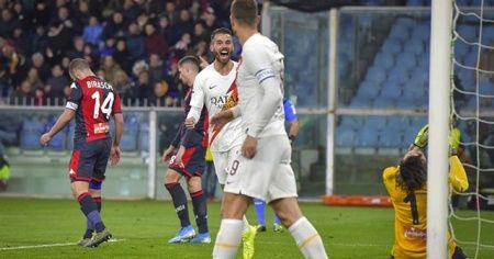 Cengiz Ünder'in de gol attığı maçta Roma, Genoa'yı 3-1 yendi