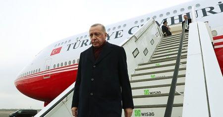 Cumhurbaşkanı Erdoğan, Berlin'de