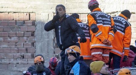 Deprem ülkesi Türkiye, anında organize oldu