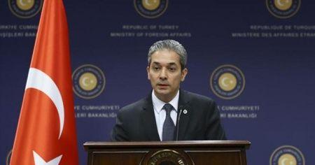 Dışişleri Bakanlığından 'Yavuz sondaj gemisi' açıklaması